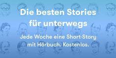 Jede Woche eine Short-Story mit Hörbuch. Kostenlos..