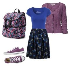 """""""Simply Luna."""" by devilluvsmores on Polyvore featuring Converse. #myoutfit // Luna Lovegood."""
