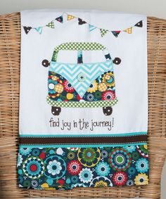 Love this 'Joy in the Journey' Tea Towel by Glory Haus on #zulily! #zulilyfinds