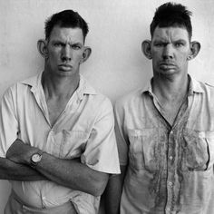 Dressie and Casie, Twins, Western Transval, 1993 © Roger Ballen