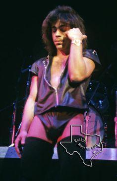Classic Prince   1979 'Prince' Tour Rare Concert Photos!