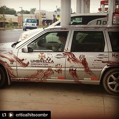 Just a typical Resident Evil car.