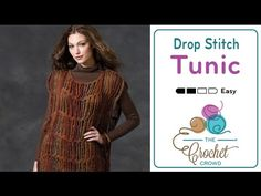 How To Crochet A Tunic: One Size Fits Most - YouTube