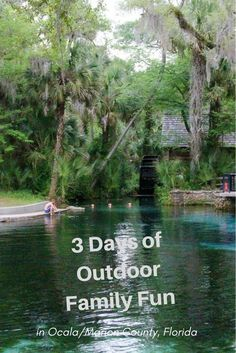 Get Ready for 3 Days of Outdoor Fun in Ocala/Marion County Florida - Itinerary for fun filled days withthe kids #ad #OcalaMarion