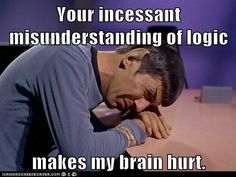 Nobody Understands Spock - Star Trek Spock, Mr T, Fantasy Star, Humor Grafico, Oui Oui, Laugh Out Loud, In This World, Just In Case, I Laughed