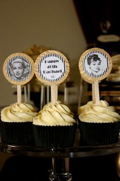 Old Hollywood Glam Birthday Party Ideas | Photo 7 of 21