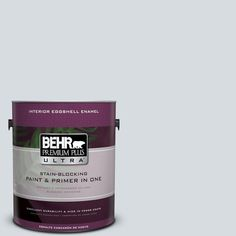 BEHR Premium Plus Ultra Home Decorators Collection 1-gal. #hdc-CT-16 Billowing Clouds Eggshell Enamel Interior Paint