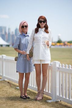 See more looks from the Veuve Clicquot Polo Classic here.