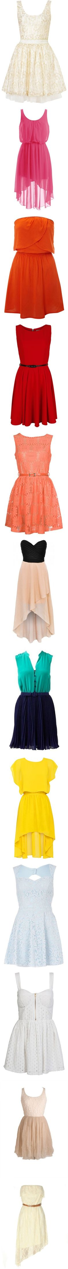 gorgeous dress options.