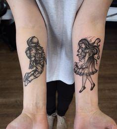 Both done by Rosie at Maid & Magpie in Hobart, Tasmania Japanese Sleeve Tattoos, Love Tattoos, Awesome Tattoos, Tatting, Tattoo Designs, Magpie, Science, Tattoo Flash, Tasmania