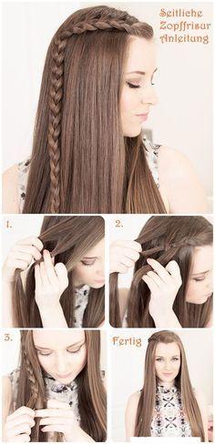 Braided Bangs Hairstyle Tutorial
