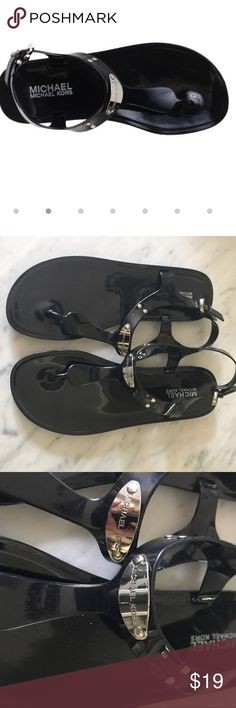 Michael by Michael Kors Jelly Sandals Michael by Michael Kors Jelly Sandals ~ Worn only one time MICHAEL Michael Kors Shoes Sandals
