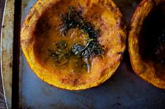 Herb Roasted Red Kuri Squash AND Cumin & Parmesan Roasted Squash Seeds (scroll down the page) Red Kuri Squash, Relish Recipes, Vegetable Recipes, Real Food Recipes, Cooking Recipes, Healthy Recipes, Roasted Squash Seeds, Veggie Side Dishes