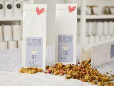 Du kannst dich nicht entscheiden? Ab sofort gibt es bei TaTeeTaTa Probiergrößen mit 30g Tee!