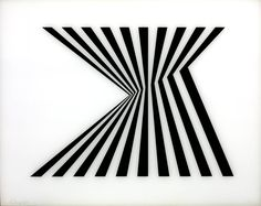 Bridget Riley. Fragment 1/7, 1965 (Screenprint on Perspex)