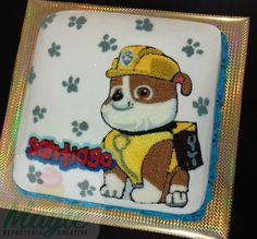Rubble Paw Patrol cake
