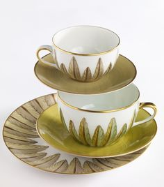 Hand-painted French Limoges Porcelain by Marie Daage ~ Collection: Palmyre