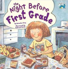 The Night Before First Grade on We Give Books. I'm going to read this to my class on the first day of school on the Smartboard. Bonus: every time you read books on the website, books get donated to children who need them.