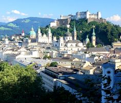 My favorite little spot in all of Europe is the city of Salzburg, Austria. I lived here for a few weeks in my mid twenties, I was enrolled in a law school summer program at the time and spent my days