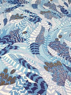 Vintage Fabric – Vintage Pierre Frey fabric in NOS condition – a unique product by Ella-Osix on DaWanda
