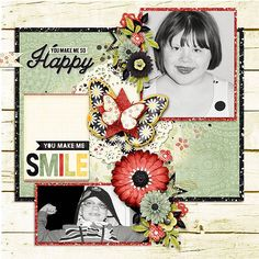 Layout using {You Make Me Happy} Digital Scrapbook Collection by Ooh La La Scraps available at Gingerscraps http://store.gingerscraps.net/You-Make-Me-Happy-Digital-Scrapbook-Collection.html and Gotta Pixel http://www.gottapixel.net/store/product.php?productid=10018281&cat=&page=1 #digiscrap #digitalscrapbooking #justsoscrappy #youmakemehappy