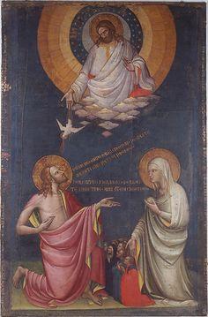 The Intercession of Christ and the Virgin, before 1402, tempera on canvas, Italian, Lorenzo Monaco (born Piero di Giovanni)