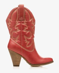 Western High Heel Boots in {productContextTitle} from {brandTitle} on shop.CatalogSpree.com, your personal digital mall.