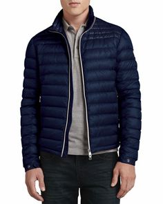 mens navy moncler jacket