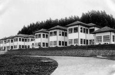 Sanatorio Durán, década 1950.