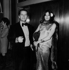 Jack Nicholson and Anjelica Houston, 1974 - ANJELICA