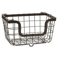 Gourmet Basics 2 Tier Flatback Basket Loop Lattice Wire   Overstock.com Shopping - The Best Deals on Pantry Racks & Bins