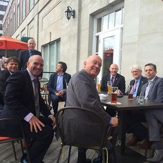 The Roy's Lounge patio is great for entertaining! . Photo credit:  @mattwhitmanhrm13  #Westin #Halifax #halifaxnoise #happyhour #VisitNovaScotia #novascotia #explorecanada