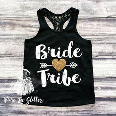 Bridesmaid Gifts NAMASTE BITCHES Cropped Muscle Tank Top  Bachelorette Party Shirt Bridesmaids Shirts Bachelorette Shirt  6003