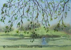 https://flic.kr/p/JhFi5Q | Oude Buisse Heide - uitzicht uit de theekoepel / view from the Tea Pavillion | Watercolour on Saunders Waterford NOT 300 g/m2.  Colours used are Cerulean Blue (red shade), French Ultramarine, Winsor Yellow, Burnt Sienna, Winsor Violet; all Winsor&Newton Professional.  My own reference.  Framed 40 x 50 cm; available.  Meer informatie vindt u op mijn website / More information can be found at my website www.jannekesatelier.webs.com