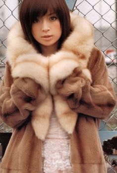 Ayumi Hamasaki . Just love her so much with dark hair .