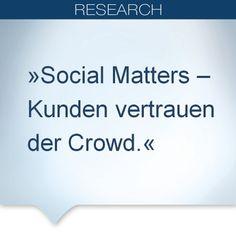 (Mai 2014): Die große Mehrheit der Kunden (83%) weltweit nutzt bereits Social Media bei der Recherche vor einem Kauf, bei der Käufergruppe im Alter von 18-34 Jahren liegt dieser Wert sogar bei 91 Prozent. Dreiviertel der Kunden geben an, bei positiven Kommentaren im Social Web eher zum Kauf bereit zu sein - in Deutschland 59%. Mehr dazu in der Cars Online Studie, für die 10.000 Autokäufer befragt wurden: http://www.capgemini.com/cars-online-2014