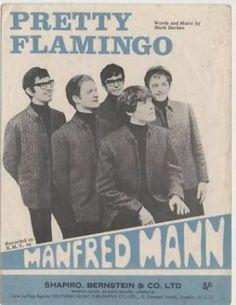 1966-sheet music-Manfred Mann-Pretty Flamingo