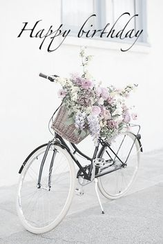 Ideas for road bike white bicycles Birthday Messages, Happy Birthday Wishes, Birthday Quotes, Birthday Greetings, It's Your Birthday, Happy Birthday Bicycle, Birthday Pictures, Birthday Images, Bike Photography