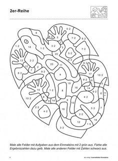 Rechen-Mandala 3 Klasse3 Addieren und Subtrahieren Aufgaben für ...