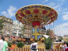 Summer in Old Market Square.  Nottingham, England