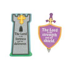 """Mighty Kingdom"" Magnet Craft Kit - OrientalTrading.com"