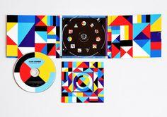 Apart Collective worked closely with italian singer Cesare Cremonini for his forth album - 'La teoria dei Colori'. Cd Design, Album Cover Design, Design Crafts, Print Design, Graphic Design, Layout Design, Collateral Design, Identity Design, Visual Identity