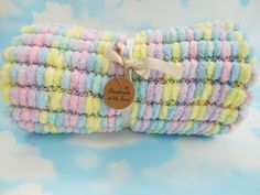 Hey, I found this really awesome Etsy listing at https://www.etsy.com/uk/listing/488527661/hand-knitted-pom-pom-baby-blanket-super