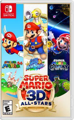 Super Mario Party, Super Mario Galaxy, Nintendo Switch Super Mario, Super Mario All Stars, Play Super Mario, Nintendo Switch System, New Super Mario Bros, Nintendo Switch Games, Mario Switch