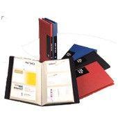 TARJETERO DE PROLIPROPENO para 240 tarjetas. Colores varios disponibles.