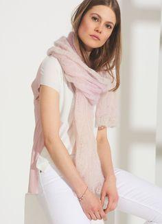 Lana Grossa TUCH Silkhair Degradé - FILATI Tücher & Co. - Modell 3B | FILATI.cc WebShop