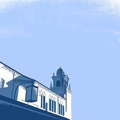 """Illustrationen von """"Down the Street""""  Die Illustration von dem Künstlerduo Down the Street wirken wie Eindrücke von einem Stadtspaziergang durch Los Angeles. Mit offenen Augen für das..."""