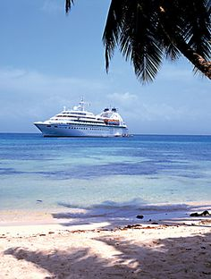 I hope to go on cool vacations, for example a cruise.