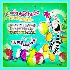 Dedicatorias de feliz cumpleaños a una amiga Happy Birthday Cards, Birthday Wishes, Love Store, Paper Book, Happy B Day, Easter Eggs, Smurfs, Birthdays, Greeting Cards