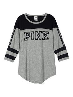 Boyfriend Jersey - PINK - Victoria's Secret from VS PINK. Saved to 16th birthday list